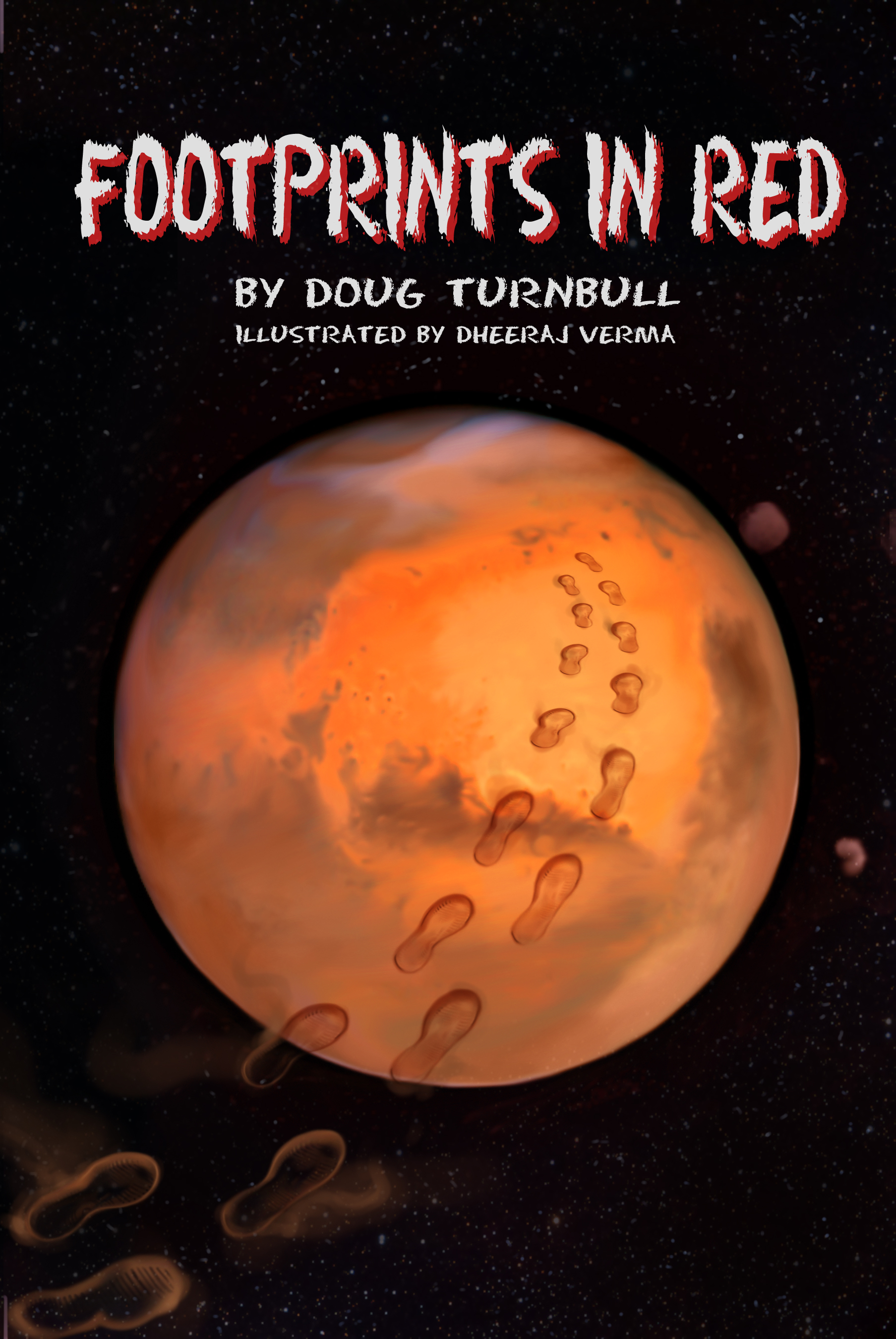 Footprints in Red by Doug Turnbull