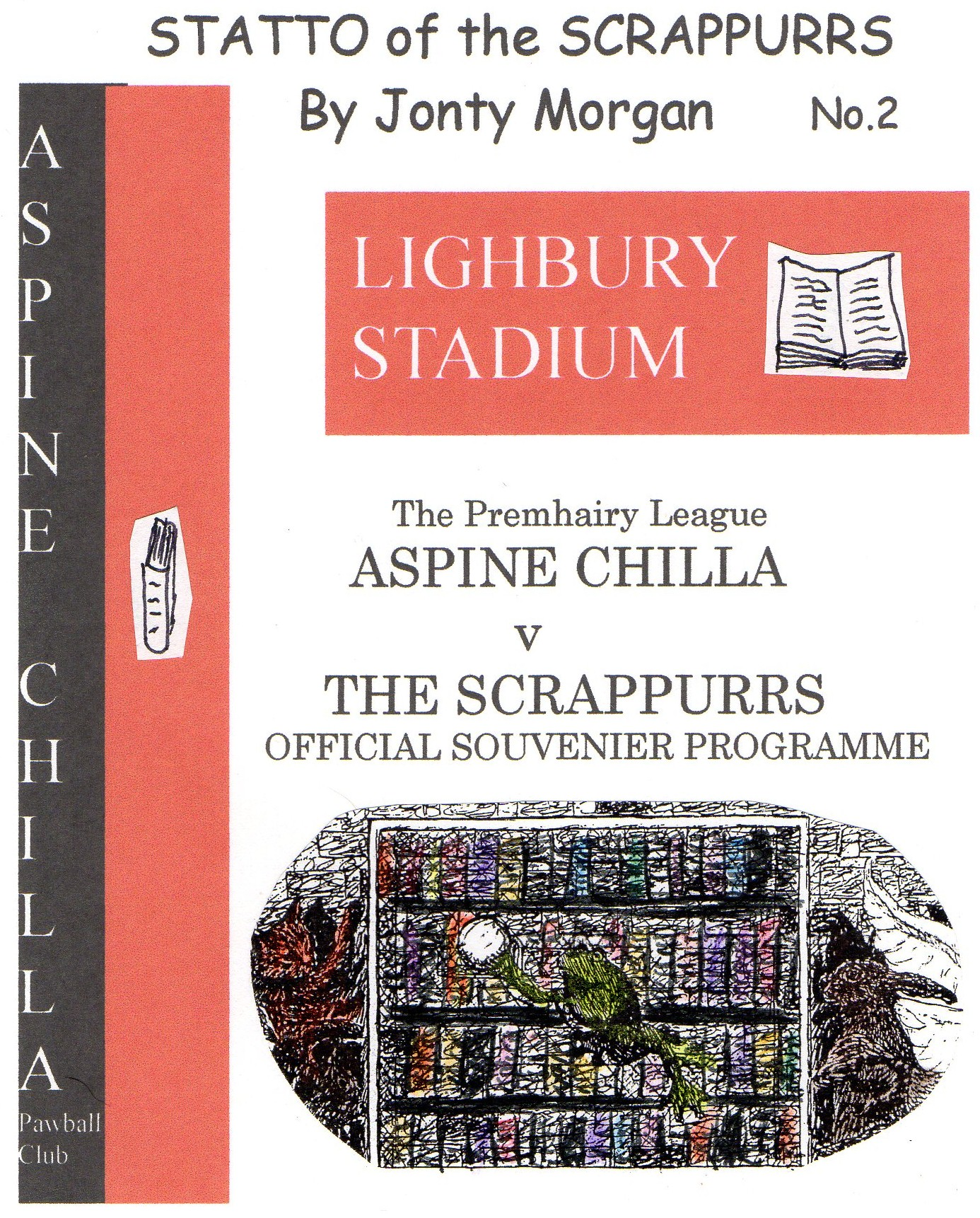 Statto of the Scrappurrs: Lighbury Stadium