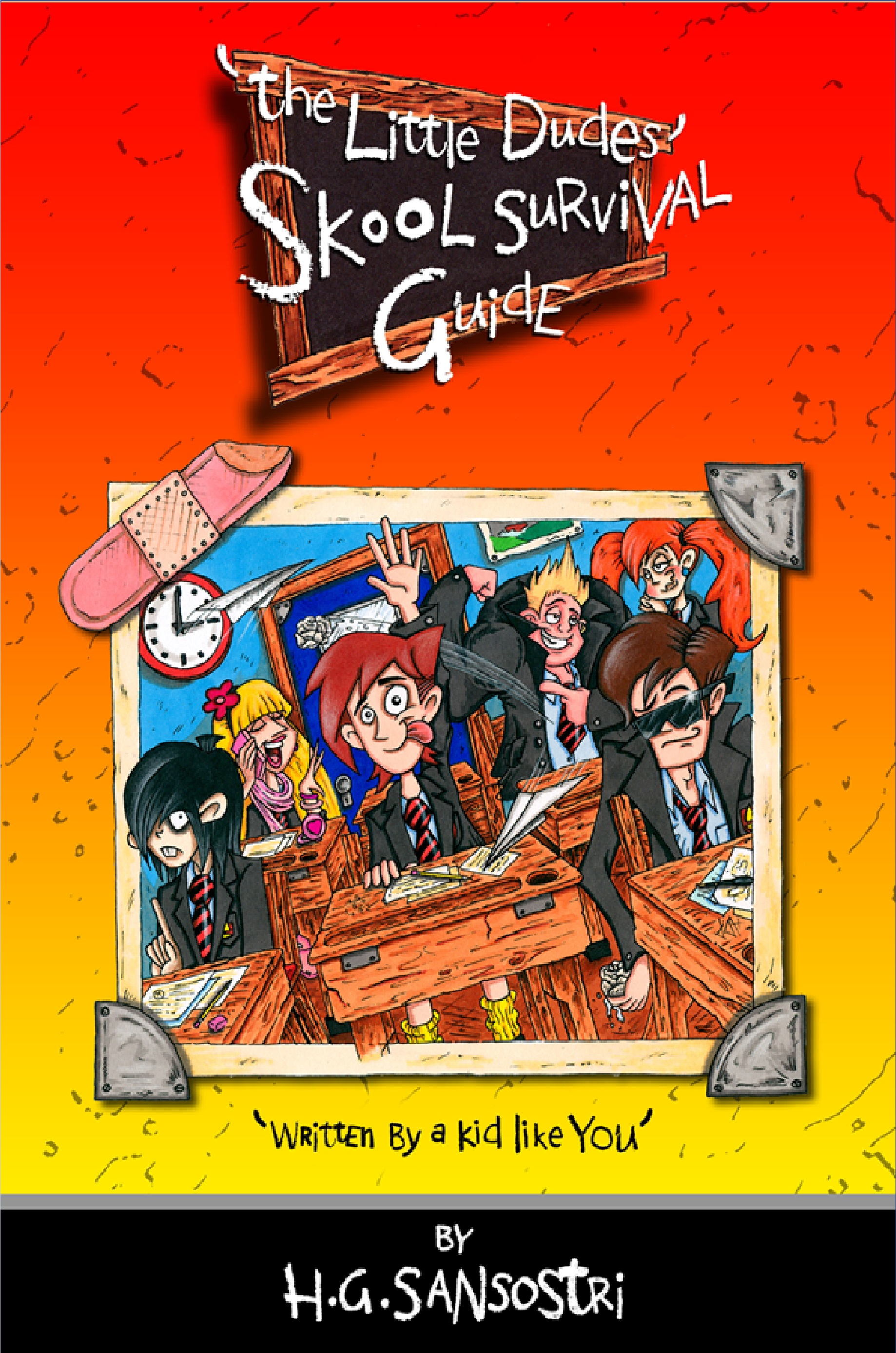 The Little Dudes Skool Survival Guide