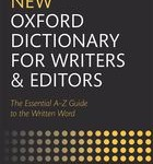 Review: New Oxford Dictionary for Writers & Editors